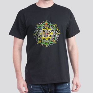 Asperger's Syndrome Lotus Dark T-Shirt